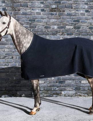 Coperta passeggio in lana cotta