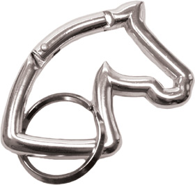 keyring horse head