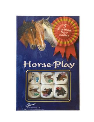 gioco dadi con cavalli