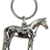 3d keyring horse