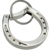 metal carabiner hook horse shoe