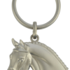 keyring horse head with bridle