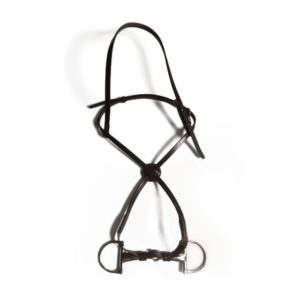 lether noseband plus bit