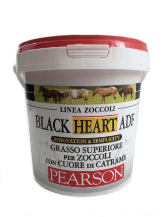 hoof grease adf black heart pearson