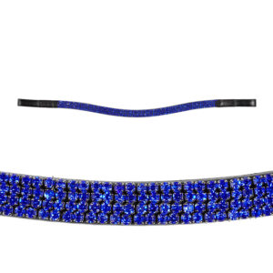 BROW BAND BLUE