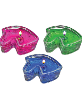 jelly candles horse
