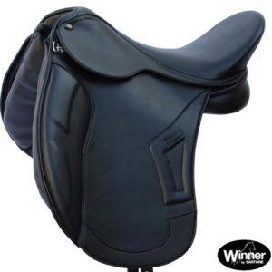 syntetic dressage saddle