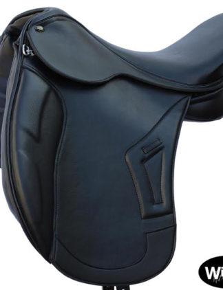 syntetic dressage saddle