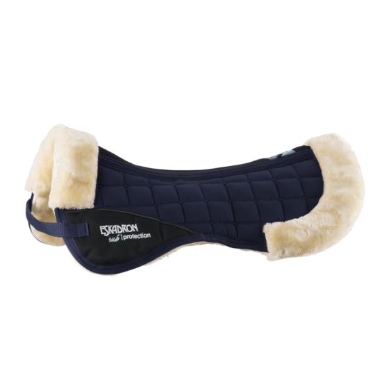 saddle pad fauxfur escadron