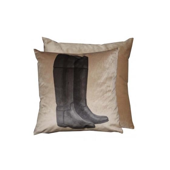 cushion riding boots