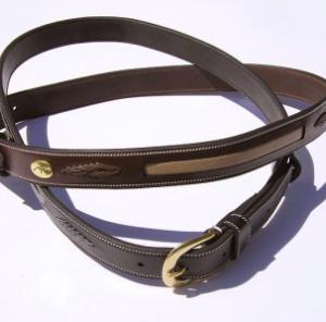 cintura per equitazione in cuoio